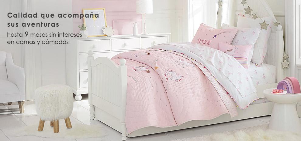 camas y cómodas