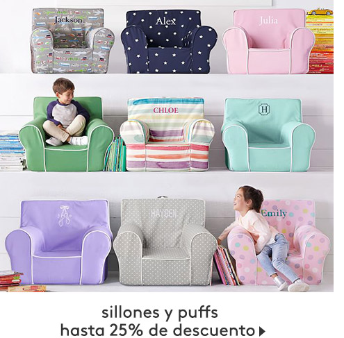sillones y puffs