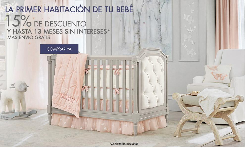 La primer habitación de tu bebé